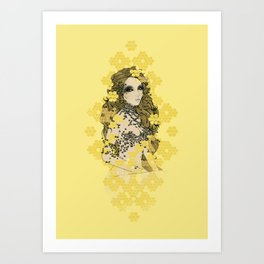 BEEautiful Art Print