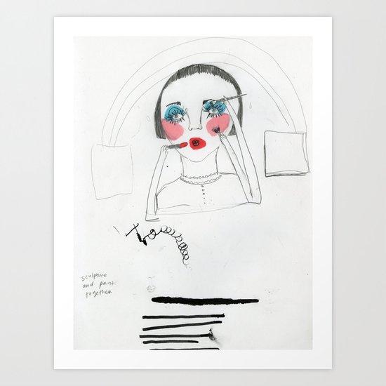 nenita loka Art Print