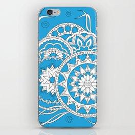 zen-like floral composition 4 iPhone Skin