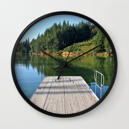 Pier Pressure (Pt. 4 - Lake Rollins, C.A.) Wall Clock