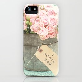 I adore you iPhone Case