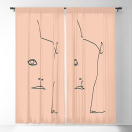 Margot Tenenbaum Blackout Curtain