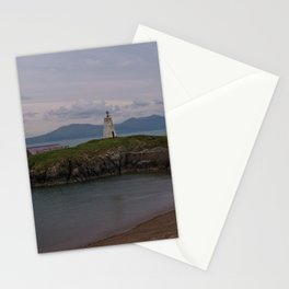 View Towards Twr Bach Lighthouse Stationery Cards