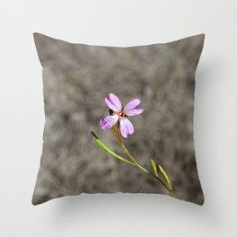 Pink in Idaho Throw Pillow
