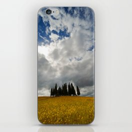 Golden fields of Tuscany iPhone Skin