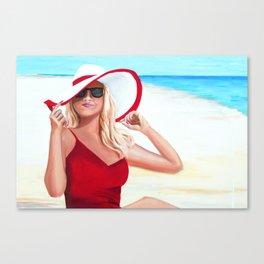 Sunshine Summer Canvas Print