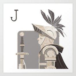 Jack R. Art Print