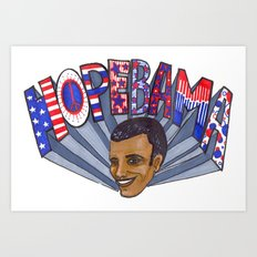 HopeBAMA Art Print