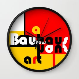 Bauhaus Lamp Wall Clock