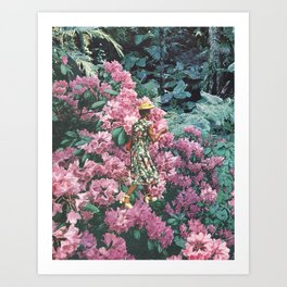 Spring Walks Art Print