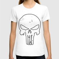 punisher T-shirts featuring The Punisher by sokteulu
