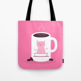 Coffee makes me poop Tote Bag