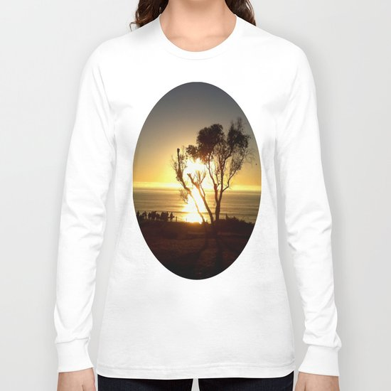 Fire and Water - a California sunset Long Sleeve T-shirt