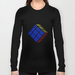 A Strange Cube Long Sleeve T-shirt