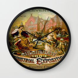 Vintage poster - Cincinnati Wall Clock