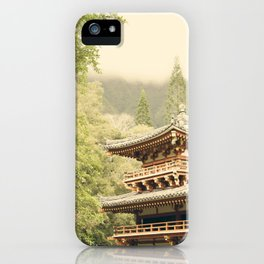 Valley of the Temples iPhone Case