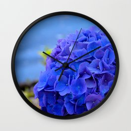 True Blue by Teresa Thompson Wall Clock