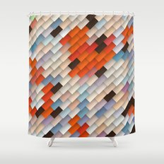 scales & shadows Shower Curtain