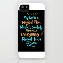 My bed Magical place forgot to do iPhone Case