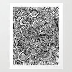 Funnel Me Art Print