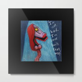 Gypsy Rabbit Metal Print