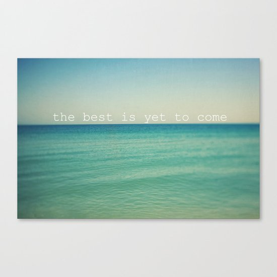 The Best (Waves) Canvas Print