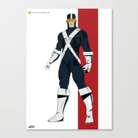 cyclops Canvas Prints featuring Cyclops by Andrew Formosa