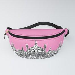 Brighton Royal Pavilion Facade ( pink version ) Fanny Pack