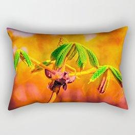Dance Of Fire Rectangular Pillow