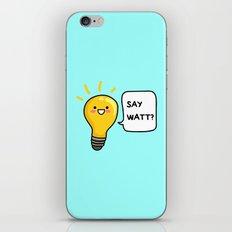 Wattever! iPhone & iPod Skin