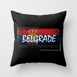Belgrade Throw Pillow