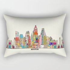 Austin texas Rectangular Pillow