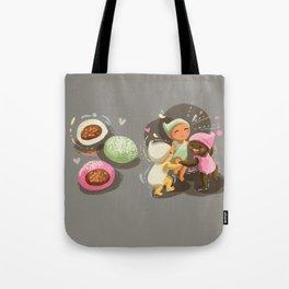 Mochi Babies Tote Bag