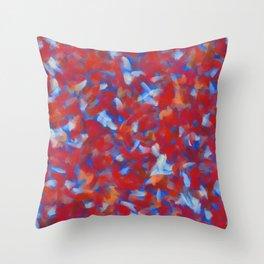 Petallic Throw Pillow