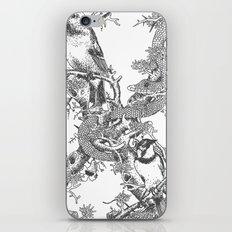 Letter 'X' Monochrome iPhone & iPod Skin