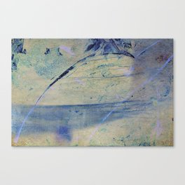Feeling blue Canvas Print