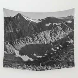 Peak above Woody Lake, Kings River Canyon Wall Tapestry