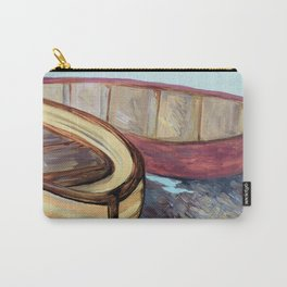 Boats on the Bank Carry-All Pouch