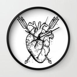 Hunted  Heart Wall Clock