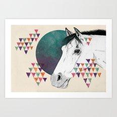 My pony is'nt an unicorn Art Print