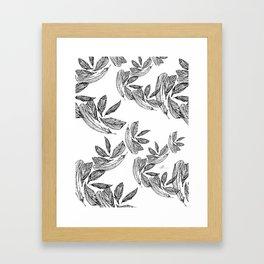 Plume 4 Framed Art Print