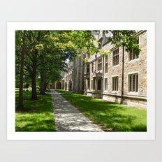 Courtyard Architecture Art Print