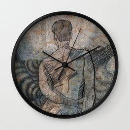 nude study Wall Clock