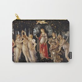 Primavera by Sandro Botticelli Carry-All Pouch