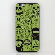 Famous Characters iPhone & iPod Skin