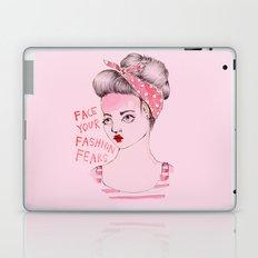 Face your Fashion Fears Laptop & iPad Skin