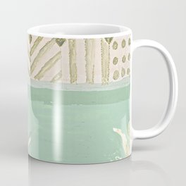 Girl in the bathroom Coffee Mug