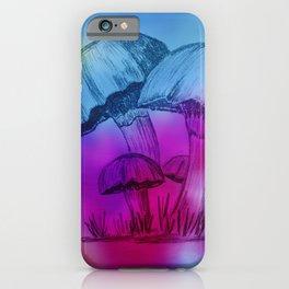 Omi's Mushrooms iPhone Case