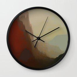 abstract, glitch Wall Clock