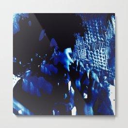 Blue Marina in Bloom Metal Print